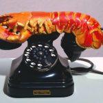 تلفن خرچنگی اثر سالوادور دالی