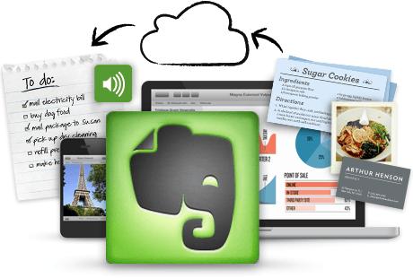 با اپ یادداشت برداری Evernote یادداشتهای خود را در همه جا و همه وقت به همراه دارید.