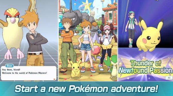 بازی Pokémon Masters