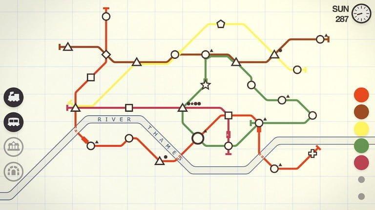بازی Mini Metro
