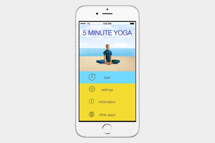 برنامه 5 Minute Yoga
