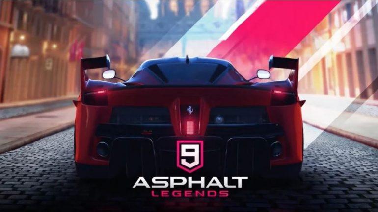 بازی ماشین مسابقه ای Asphalt 9: Legends