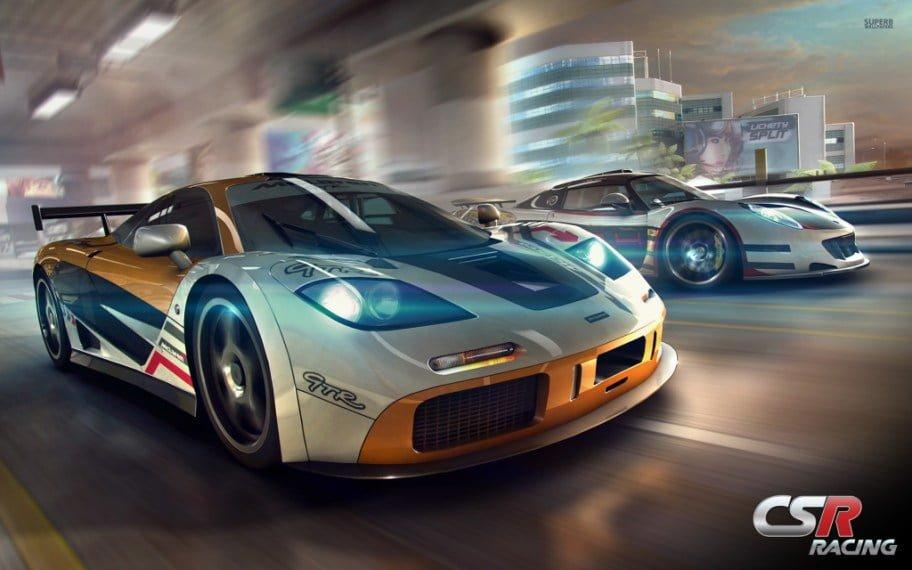 بازی مسابقه ماشین CSR Racing