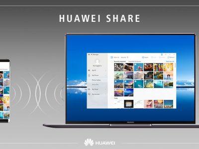 ویژگی Huawai Share