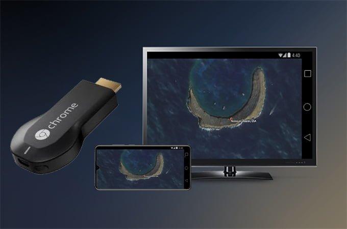 روش ششم: استفاده از Chromecast